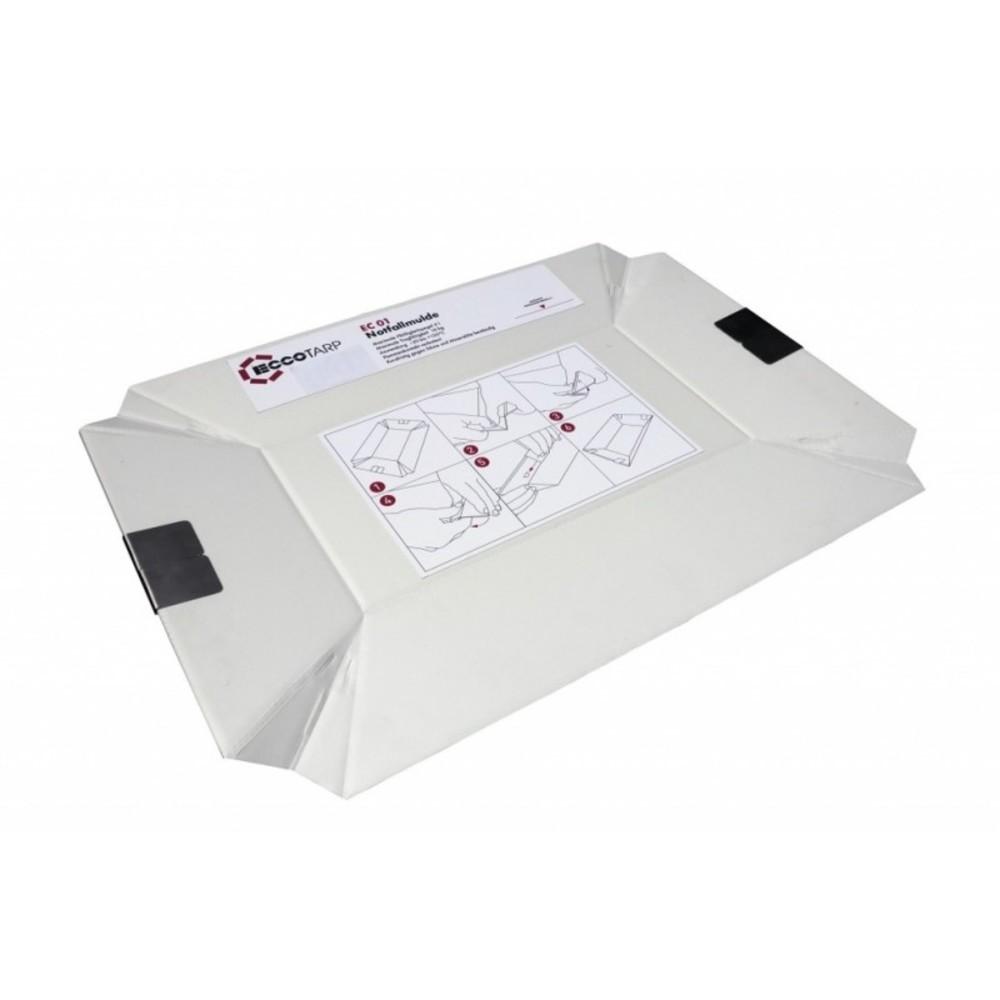Faltbare Notfallmulde ECCOTARP - 3 l