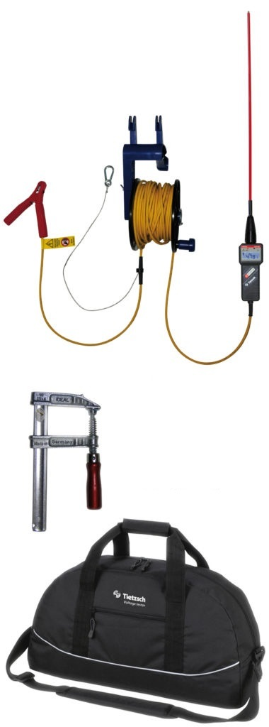 Hochwasser-Spannungsprüfer mit optischem + akustischem Alarm - DSP-HW