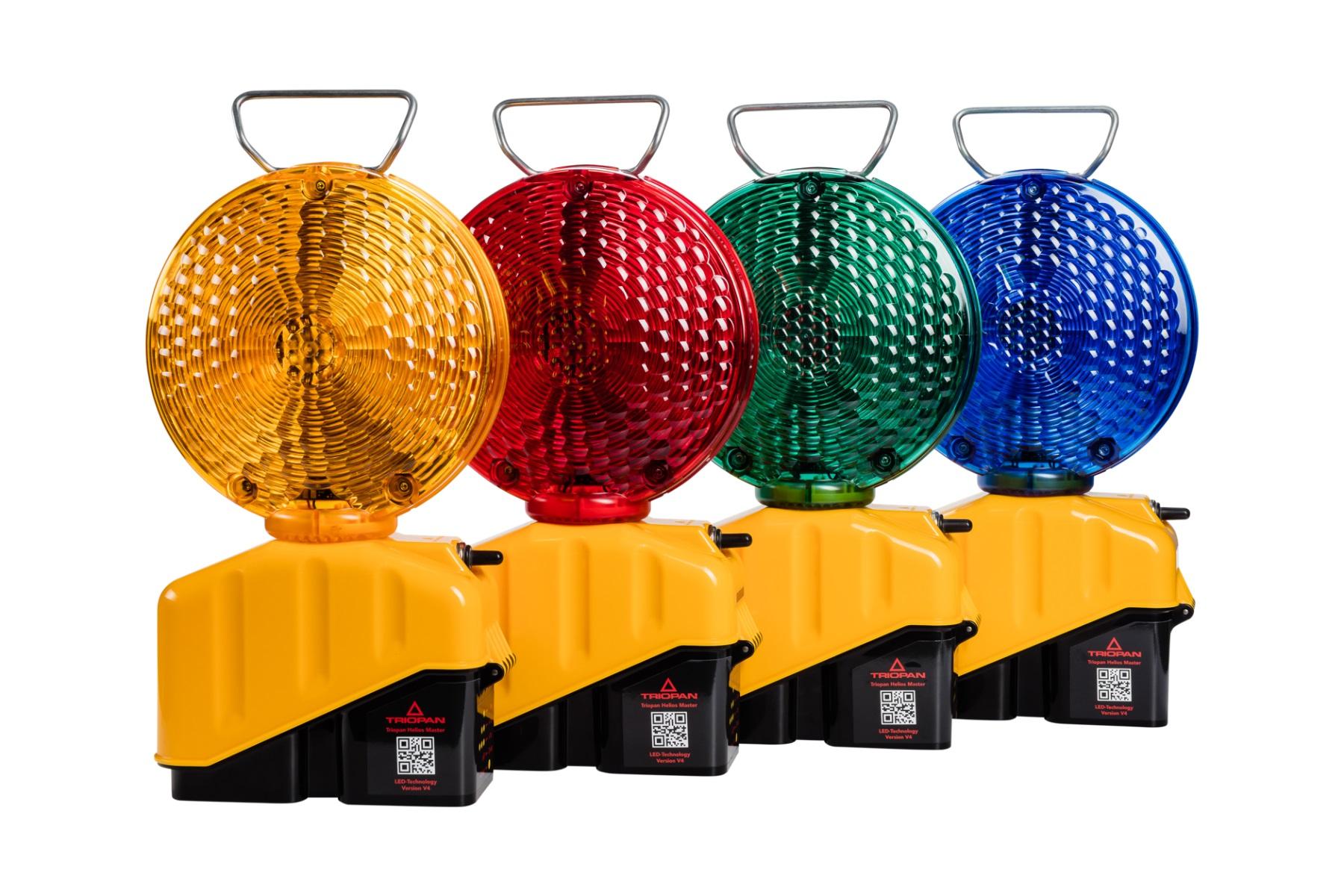 Signalisationslampe Helios LED Master V4 mit Klappfuss