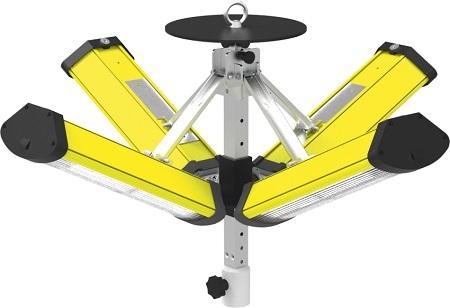 Mobile Grossflächenbeleuchtung Aldebaran Flex LED 600 Basic