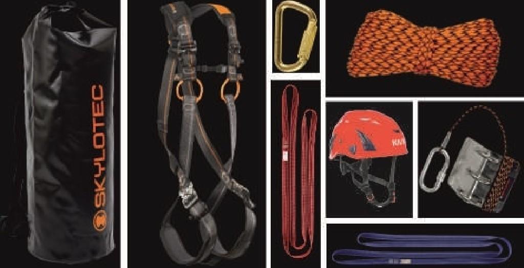 Absturzsicherungs-Set für Feuerwehren SKYLOTEC