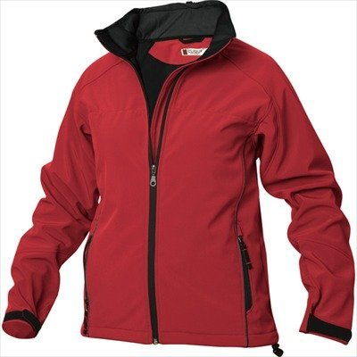 Damen Softshelljacke Gr. M red