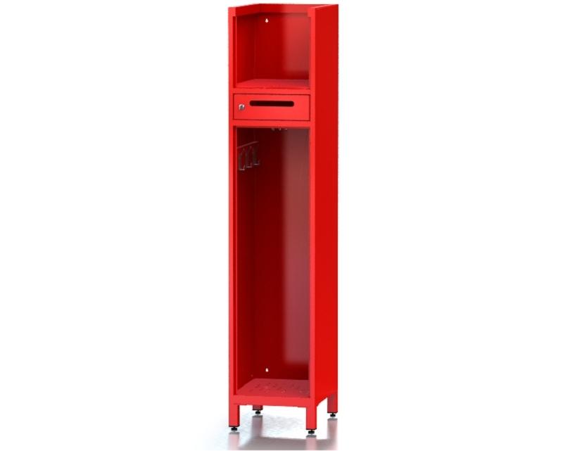 Garderobenschrank OPTIMAL – Typ 4