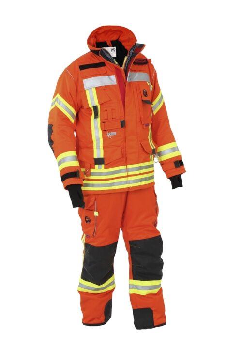 Brandschutzjacke NTi, Nomex, schwarzblau