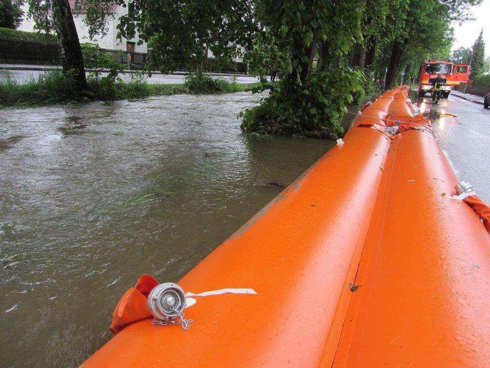 Mobiler Hochwasserschutz BEAVER
