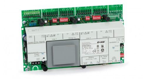 Zentralplatine RZN 4404-M, 4A, 2 Linien, 2 Gruppen AdComNet - ZP RZN 4404-M AdComNet