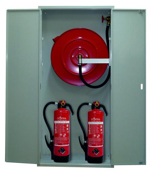 Feuerlöschposten VARIO-MAX beheizt mit 30 m Schlauch, Wasserlöschposten