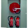 Feuerlöschposten VARIO-MAX beheizt mit 40 m Schlauch - AP, Wasserlöschposten