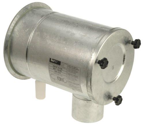 Kondenswasserbehälter für Schutzraumbelüftungsanlagen
