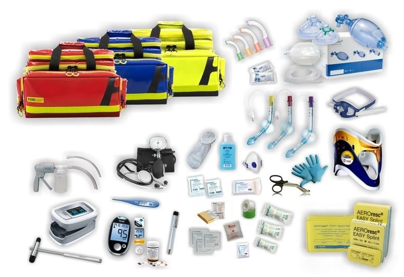 """Notfalltasche """"Firstresponder"""" PROFI – AEROcase® Plan"""