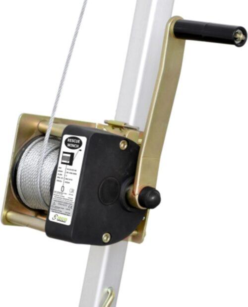 Arbeits- und Rettungswinde mit Stahlseil zu KRATOS - 20 m