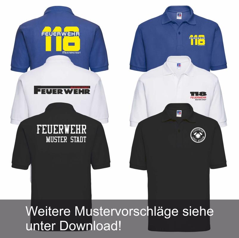 Poloshirt Kurzarm Männer 185 gr / m2