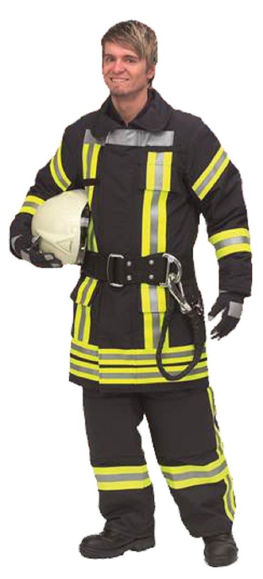 Brandschutzjacke BASIC, Nomex Delta TA, blau