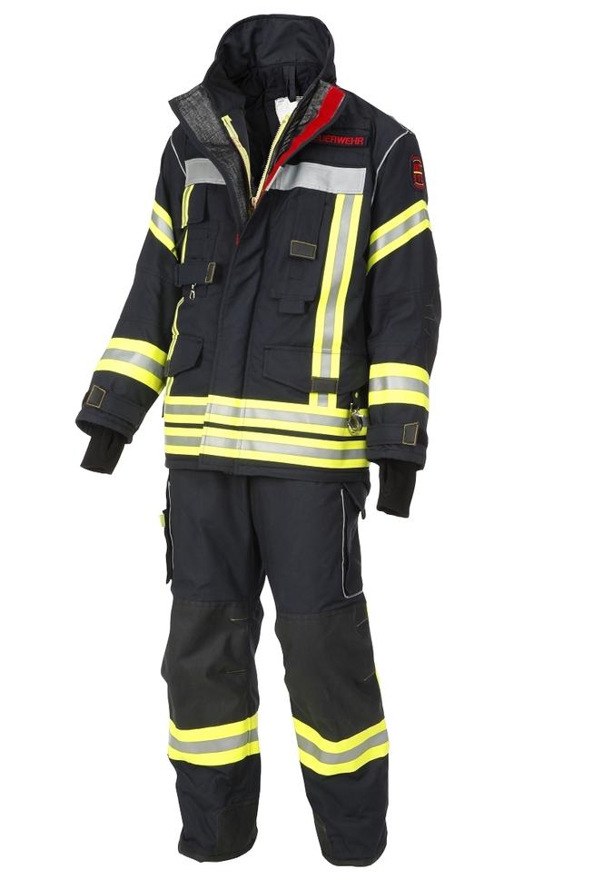 Brandschutzhose NTi, Nomex, schwarzblau
