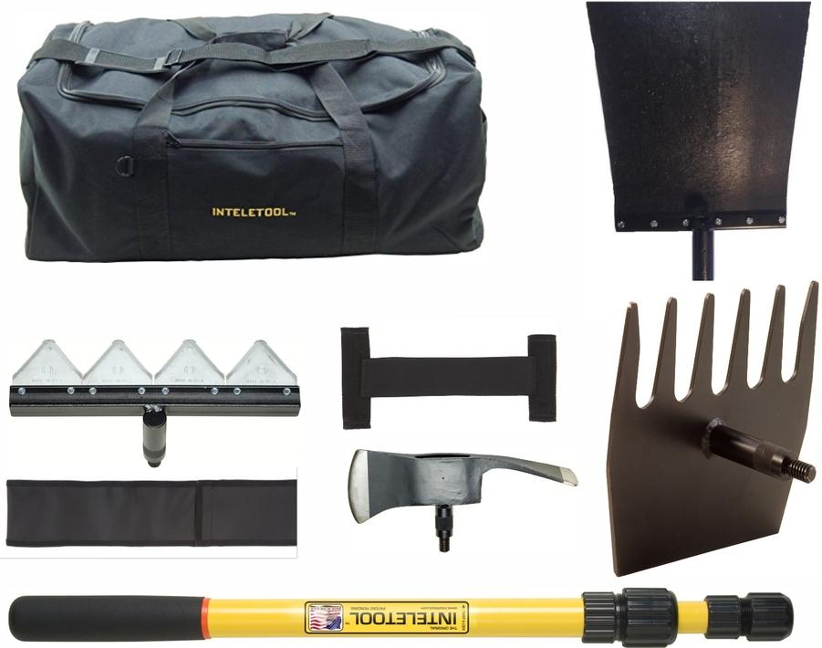 """Werkzeug-Set """"WILDLANDS"""" mit Inteletool-Glasfaserstiel"""