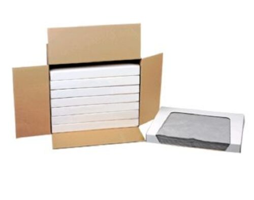 Universalbindevlies - Tücher, grau