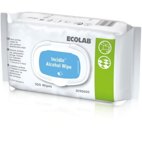 Desinfektionstücher INCIDIN® ALCOHOL WIPES - Pack á 100 Tücher