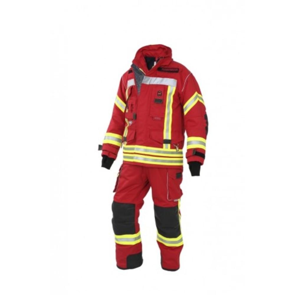 Brandschutzhose NTi, Nomex, rot