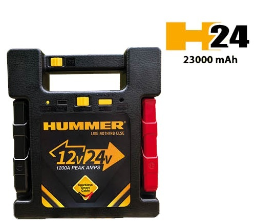 HUMMER H24 Jump Starter 24 V / 12 V