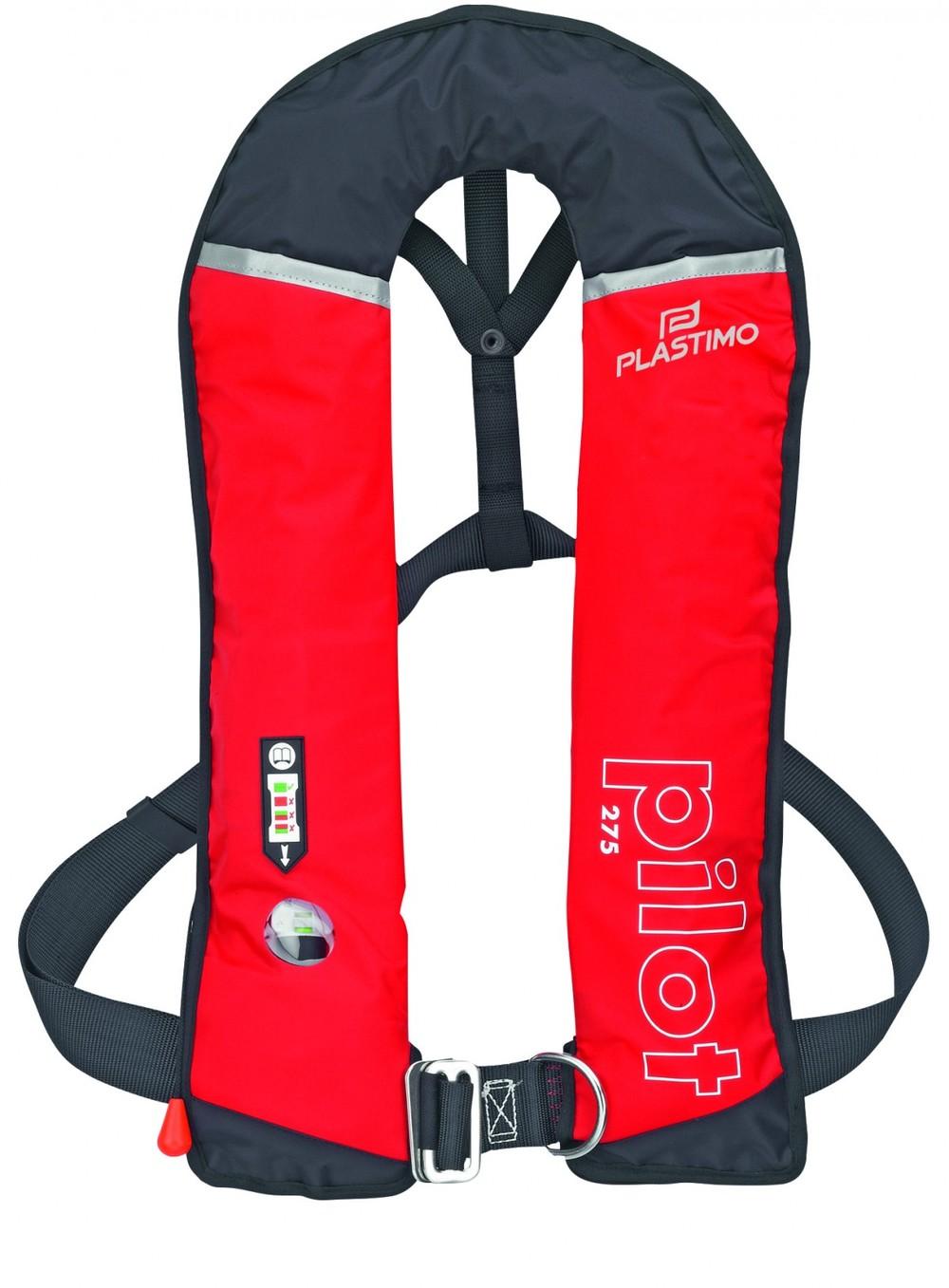 Schwimm- und Rettungsweste (automatisch aufblasbar) – 275 N