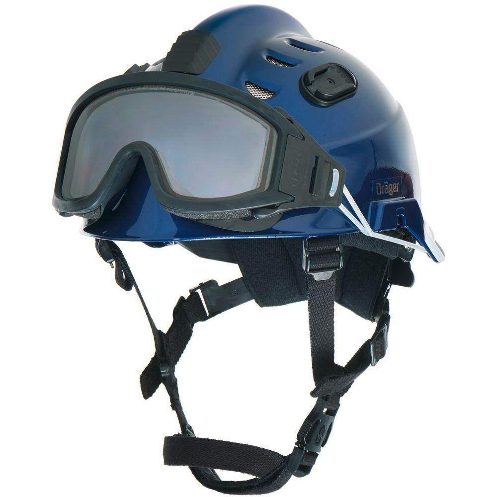 Einsatzhelm Dräger HPS 3500 Premium Set inkl. Schutzbrille – lackiert