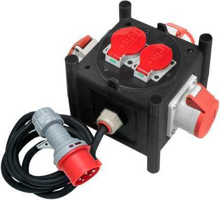 Stromverteiler kompakt CEE 400 V, 16 A