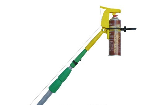Teleskopstange inkl. Dosenhalter für Wespen Spray