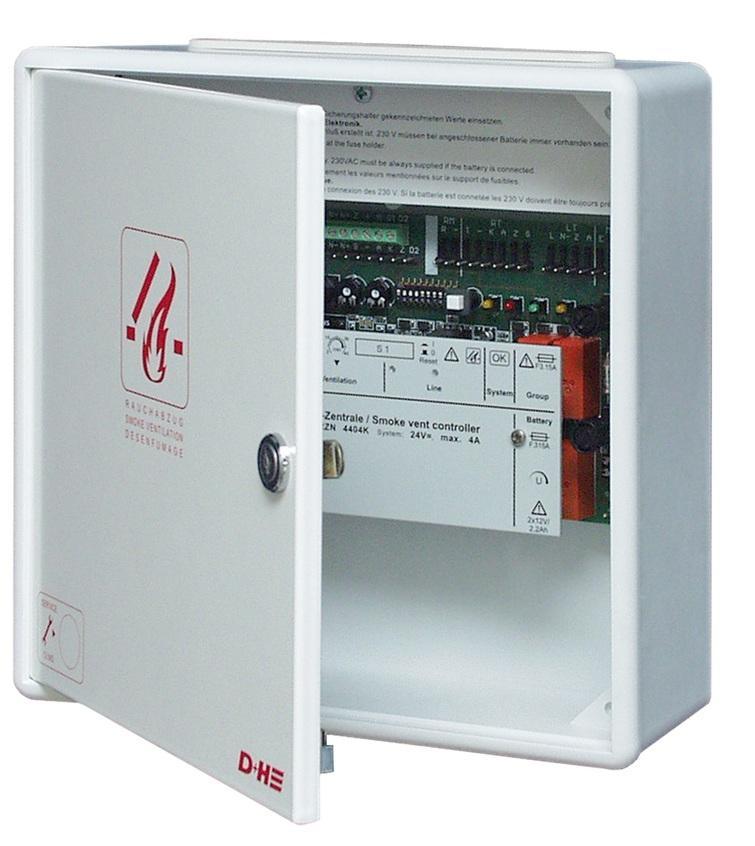 Zentralplatine RZN 4408-K, 8A, 1 Linie, 2 Gruppen AdComNet
