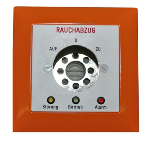 Rauchabzugs-Schlüsseltaster EDIZIO / orange / Deutsch - SRT-EDIZIO-D-O