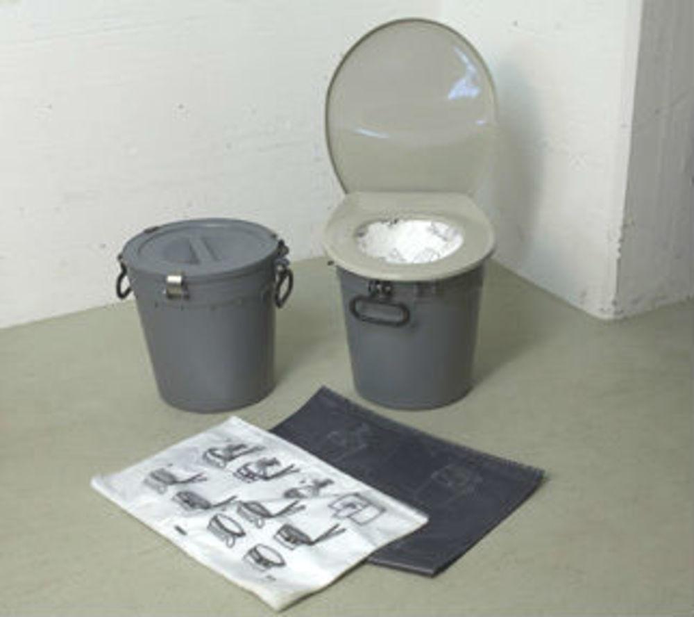 Trocken-Klosett-Ausrüstung TC-8 für max. 10 Schutzplätze